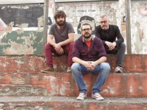 Marco Biagiotti (drums) Mario Evangelista (guitars) Danilo Gallo (bass)