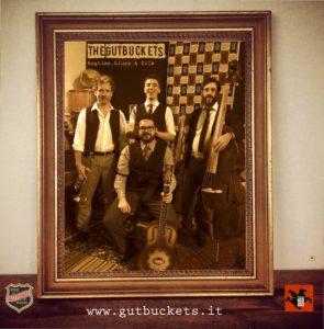 The-Gutbuckets-promo quartetto